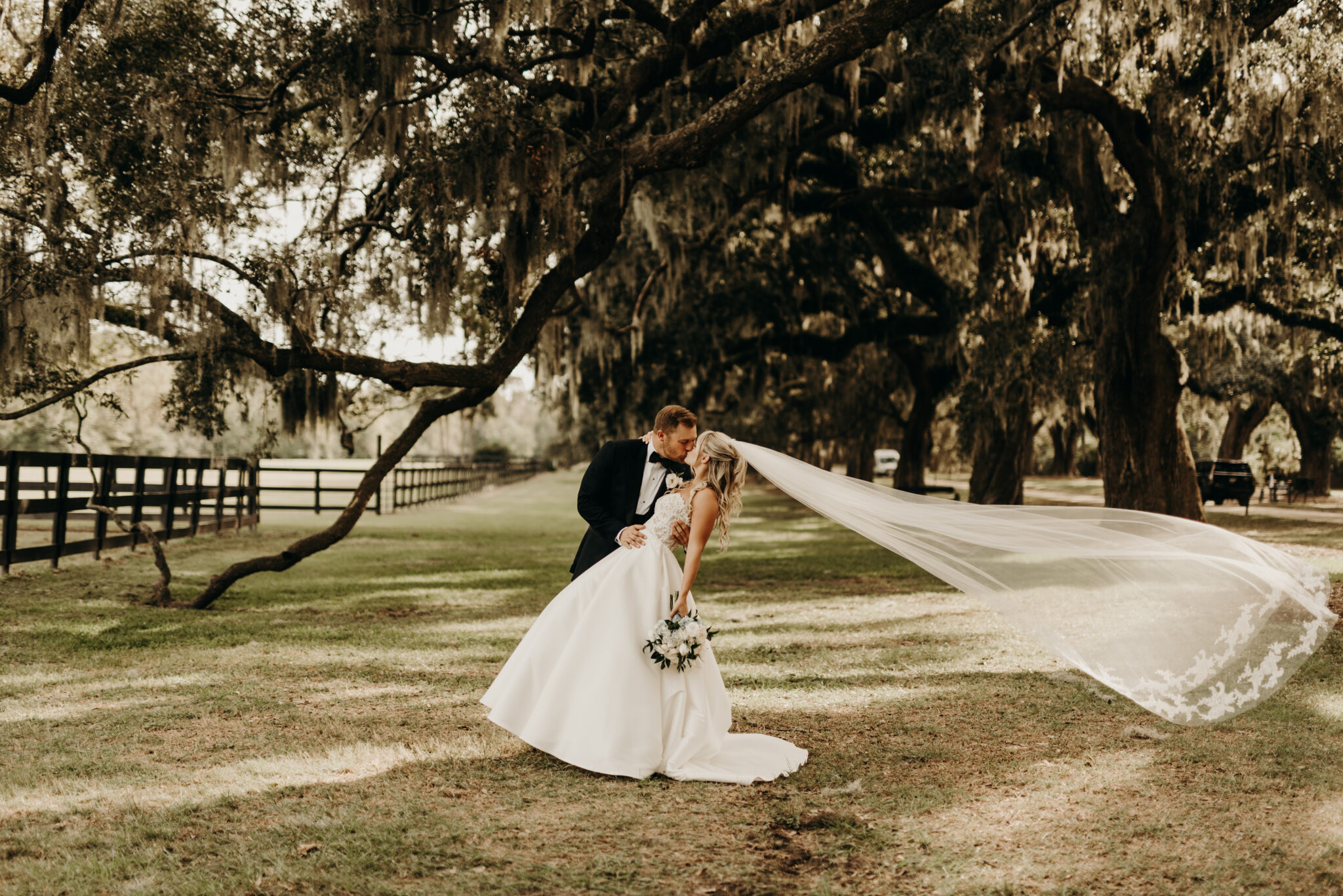 Romantic Southern Belle Wedding in Charleston, SC