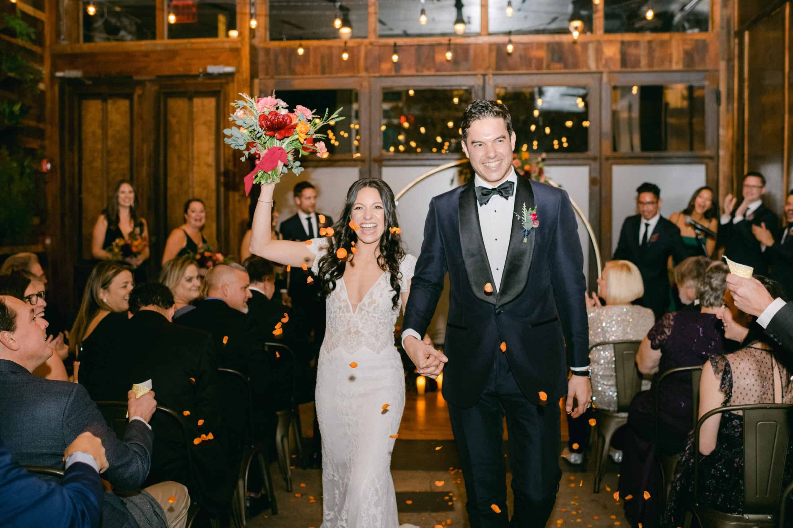 Modern Chic Brooklyn Winery Wedding