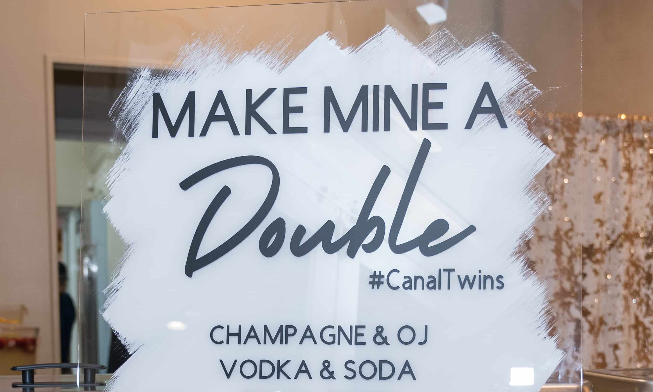 Make Mine A Double: Unique Baby Shower for Twins
